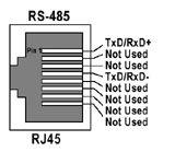 comtrol com pinout diagram